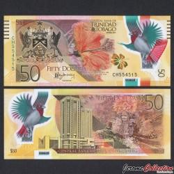 TRINITÉ-ET-TOBAGO - Billet de 50 DOLLARS - Polymer - 2015