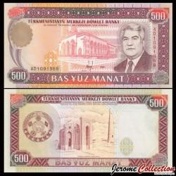 TURKMENISTAN - Billet de 500 Manat - 1995
