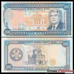 TURKMENISTAN - Billet de 100 Manat - 1995