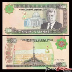 TURKMENISTAN - Billet de 10000 Manat - 2003