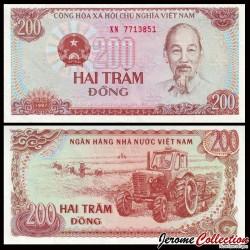 VIETNAM - Billet de 200 Dong - 1987