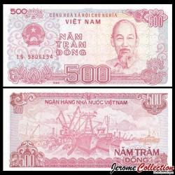 VIETNAM - Billet de 500 Dong - 1988