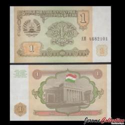 TADJIKISTAN - Billet de 1 Rouble - 1994