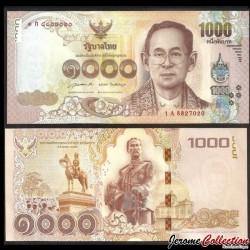 THAILANDE - Billet de 1000 Baht - 2015
