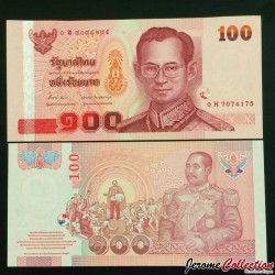 THAILANDE - Billet de 100 Baht - 2005