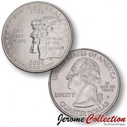 ETATS-UNIS / USA - PIECE de 25 Cents (Quarter States) - New Hampshire - 2000