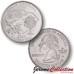 ETATS-UNIS / USA - PIECE de 25 Cents (Quarter States) - Caroline du Sud - 2000