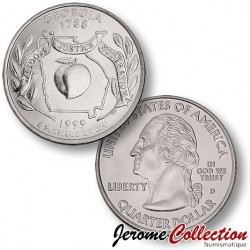 ETATS-UNIS / USA - PIECE de 25 Cents (Quarter States) - Georgia - 1999