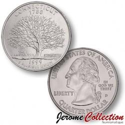 ETATS-UNIS / USA - PIECE de 25 Cents (Quarter States) - Connecticut