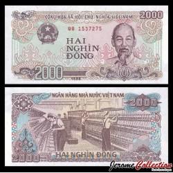 VIETNAM - Billet de 2000 Dong - 1988