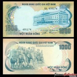 SUD VIETNAM - Billet de 1000 Dong - 1972 P34a