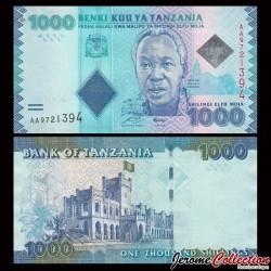 TANZANIE - Billet de 1000 Shillings - 2010
