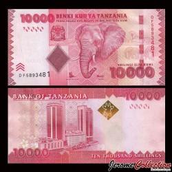 TANZANIE - Billet de 10000 Shillings - 2015 P44b