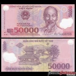 VIETNAM - Billet de 50000 Dong - Polymer - 2014
