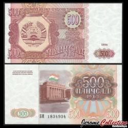 TADJIKISTAN - Billet de 500 Roubles - 1994