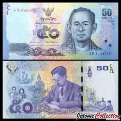 THAILANDE - Billet de 50 Baht - 2017