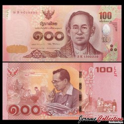THAILANDE - Billet de 100 Baht - 2017