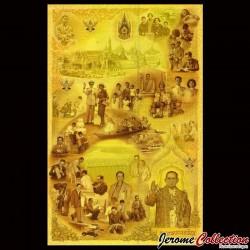 THAILANDE - Billet TRIPLE de 16 Baht - 1 5 10 Baht - 2007