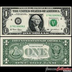 ETATS UNIS - Billet de 1 DOLLAR - 2003 - D(4) Cleveland