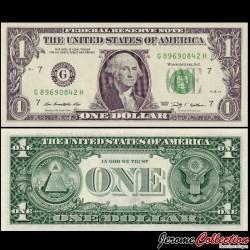 ETATS UNIS / USA - Billet de 1 DOLLAR - 2009 - G(7) Chicago