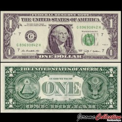 ETATS UNIS - Billet de 1 DOLLAR - 2009 - G(7) Chicago
