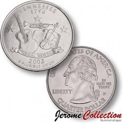 ETATS-UNIS / USA - PIECE de 25 Cents (Quarter States) - Tennessee