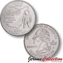 ETATS-UNIS / USA - PIECE de 25 Cents (Quarter States) - Ohio