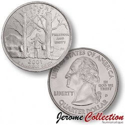 ETATS-UNIS / USA - PIECE de 25 Cents (Quarter States) - Vermont - 2001