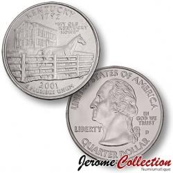 ETATS-UNIS / USA - PIECE de 25 Cents (Quarter States) - Kentucky - 2001
