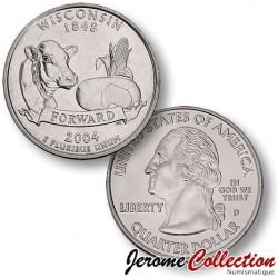 ETATS-UNIS / USA - PIECE de 25 Cents (Quarter States) - Wisconsin