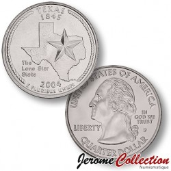 ETATS UNIS / USA - PIECE de 25 Cents (Quarter States) - Texas - 2004 - P