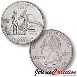 ETATS-UNIS / USA - PIECE de 25 Cents (Quarter States) - Californie - 2005