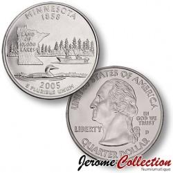 ETATS-UNIS / USA - PIECE de 25 Cents (Quarter States) - Minnesota - 2005