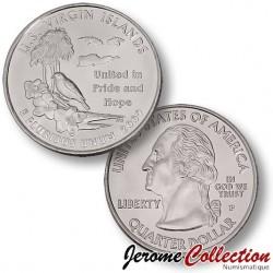 ETATS UNIS / USA - PIECE de 25 Cents (Quarter States) - Îles Vierges des États-Unis - 2009 - P