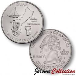 ETATS-UNIS / USA - PIECE de 25 Cents (Quarter States) - Guam - 2009