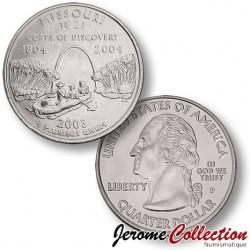 ETATS-UNIS / USA - PIECE de 25 Cents (Quarter States) - Missouri