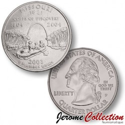 ETATS-UNIS / USA - PIECE de 25 Cents (Quarter States) - Missouri - 2003