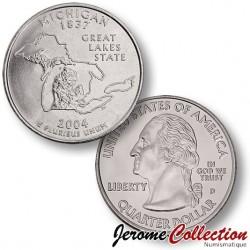 ETATS-UNIS / USA - PIECE de 25 Cents (Quarter States) - Michigan - 2004