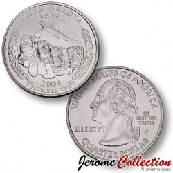 ETATS-UNIS / USA - PIECE de 25 Cents (Quarter States) - Sud Dakota