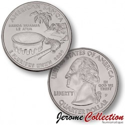 ETATS UNIS / USA - PIECE de 25 Cents (Quarter States) - Samoa américaines - 2009 - P