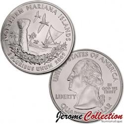 ETATS UNIS / USA - PIECE de 25 Cents (Quarter States) - Îles Mariannes du Nord - 2009 - P