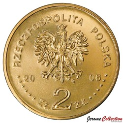 POLOGNE - PIECE de 2 ZLOTE -10 zlotych de 1932 - 2006