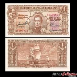 URUGUAY - Billet de 1 Peso - 1939 P35b3