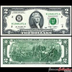 ETATS UNIS / USA - Billet de 2 DOLLARS - 2009 - B(2) New York P530A - Fw
