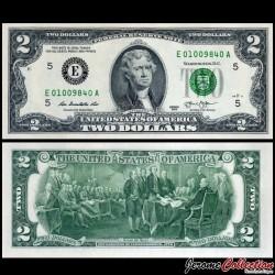ETATS UNIS / USA - Billet de 2 DOLLARS - 2013 - E(5) Richmond P538 - Fw