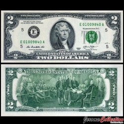 ETATS UNIS - Billet de 2 DOLLARS - 2013 - E(5) Richmond