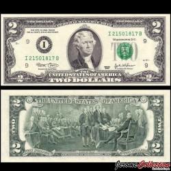 ETATS UNIS / USA - Billet de 2 DOLLARS - 2003 - I(9) Minneapolis