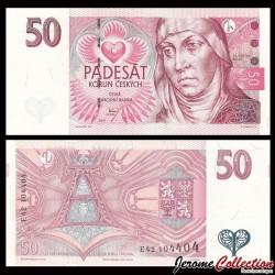 REPUBLIQUE TCHEQUE - Billet de 50 Korun - 1997 P17a