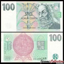 REPUBLIQUE TCHEQUE - Billet de 100 Korun - 1997