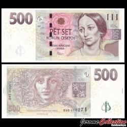 REPUBLIQUE TCHEQUE - Billet de 500 Korun - 2009